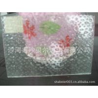 常年供应3-6mm优质压花玻璃千禧格,海棠,七巧板,布纹,香梨
