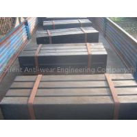 Iron High Cr Impact Plates Alloy Steel Castings More than HRc60 DF054