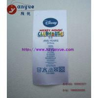 供应吊牌丝网印刷 商标丝网印刷 缎带丝网印刷