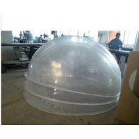 亚克力空心整球 高档优质透明灯罩 深圳水晶球,圆球罩,亚克力地球仪罩