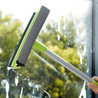 优质长手柄双面玻璃清洁器/清洁刮 玻璃/墙壁/瓷砖双面清洁器批发