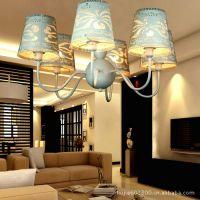 现代简约时尚吊灯 客厅卧室餐厅饭厅灯白雕花吊灯简欧宜家灯具