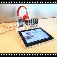 小米4华为P7手机展示底座 苹果iphone6 智能手机亚克力展示底座
