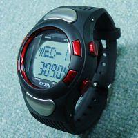 心率表 3D运动计步器 背光无胸带测脉搏手表 消耗能量卡路里计算