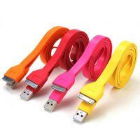 厂家供应苹果iphone4s 4专用USB大面条苹果数据线US 充电线传输线