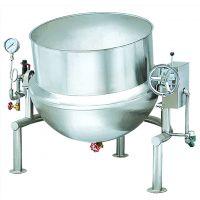 翔鹰XYQG-A200标准型可倾蒸汽夹层锅 可倾蒸汽夹层锅