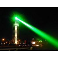 绿色地标激光灯 户外激光灯 帝王大厦激光灯 激光水幕