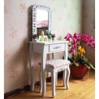 梳妆台小户型 简约时尚化妆台/桌 宜家实木梳妆桌田园化妆柜