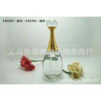批发PT002-60ML透明喷雾香水玻璃空瓶子