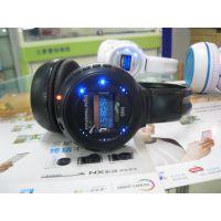 供应插SD/TF卡无线音乐耳机,带收音MP3头戴式无线有线读卡耳机