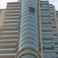 广东珠海吊篮高空安装更换大块大板玻璃