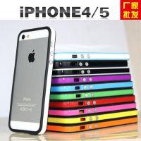 供应苹果5手机壳 Bumper信号圈 iphone5边框保护套硅胶外壳批发厂家