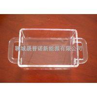 供应高质量的大型石英玻璃清洗缸400*400*500mm