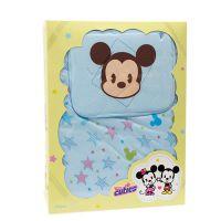 丽婴房 Cuties  星空米奇系列 婴儿抱被礼盒 附枕头