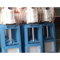 东捷插板阀配备电动、气动、电液动推杆为驱动装置插板阀质优价廉