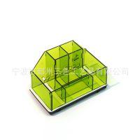 亚克力厂家定做各种创意收纳盒 文具用品收纳盒 桌面收纳盒定做
