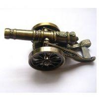 批发 新奇创意模型CD小炮迷你型气体防风打火机|个性摆设礼品