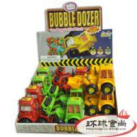 出口美国 工程车玩具糖果*12个/盒 休闲 儿童食品 进口食品批发