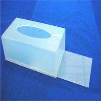 专业亚克力喷砂纸巾盒 亚克力纸巾盒 旅社、酒店抽纸盒加工