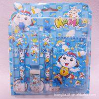韩版卡咪兔文具套装 便条本文具学生用品组合 5IN1卡通文具礼包