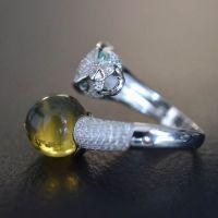 供应珠宝首饰来图定做 选款生产镶嵌(CL-01)
