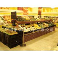 木质蔬菜架,生鲜水果架