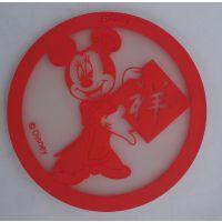 定做pvc卡通杯垫,塑胶杯垫,橡胶杯垫