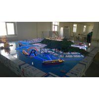 高端港口物流沙盘,静态港口物流模型,北京凡古模型