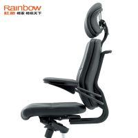 供应虹桥老板椅 带头枕电脑转椅 人体工学椅