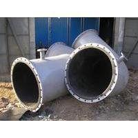 DN377衬胶管道/天然胶/衬胶管道/衬胶管件