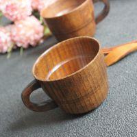 小酒杯 /木质小酒杯/咖啡杯/复古传统杯/漆器餐具批发