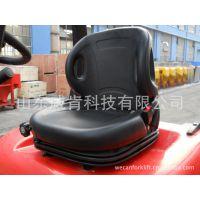 威肯叉车专用叉车配件气垫减震座椅带安全带的安全座椅耐用品质保证