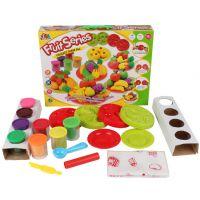 新款水果缤纷彩泥套装 儿童过家家玩具 儿童益智玩具 橡皮泥 爆款