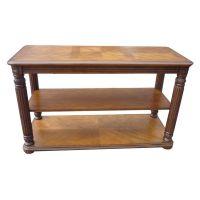 东莞厂家 实木家具订做 时尚简约双层茶几桌