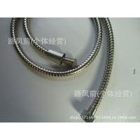 厂家直销 1.5米铜芯合金帽不锈钢管头 优质淋浴花洒软管