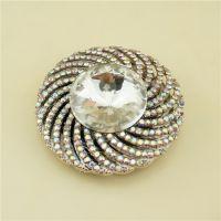 奢华满钻金属折叠挂包钩 手工制作挂包器 高端定制女性促销礼品