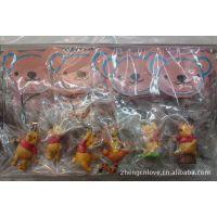 6款迪士尼 公仔 匙扣 尾货 迪士尼玩具 pvc公仔   迪士尼公仔
