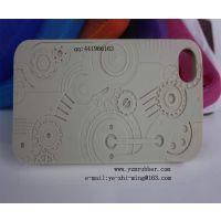 供应硅胶工业齿轮手机套,硅胶4G/4S齿轮手机套,新款青蛙手表