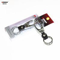 大量批发欧美达高档金属钥匙扣锁匙扣钥匙圈钥匙挂件皮扣B3733
