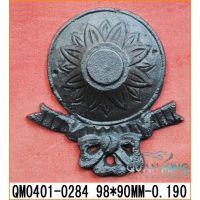安溪我铁艺批发铸铁装饰配件QM0401-0284