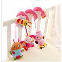 布艺婴儿摇铃婴儿玩具床铃一件代发婴儿床绕婴儿床铃玩具音乐床绕