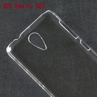工厂直销HTC Desire 620手机保护套PC单底透明素材喷油彩绘新裸壳
