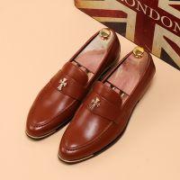 供应批发一件代发男鞋 正品韩版时尚气质都市型男百搭男士休闲皮鞋