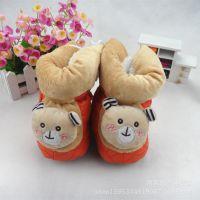 2014秋冬新款 宝宝加厚保暖鞋软底婴儿棉鞋皮加绒冬款婴儿靴0~1岁