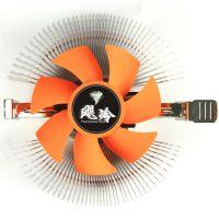 飓冷 静音版 通用型电脑CPU风扇  电脑配件 散热系统 厂家批发