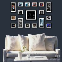 欧式田园风格 创意家居饰品  居摆件创意照片墙17框组合