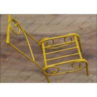 创意房间小置物架  金属复古小椅子  小音箱摆放物 古椅子