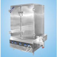 供应北京中央厨房设备厂家 大型蒸箱 燃气蒸箱 蒸箱价格
