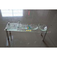 亚克力方形洒架透明环保托盘水果盘亚克力酒店用品生产加工