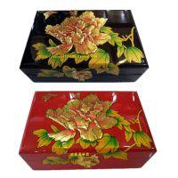 漆器首饰盒批发 个性定制家谱盒  月饼盒定制 会所用具盒
